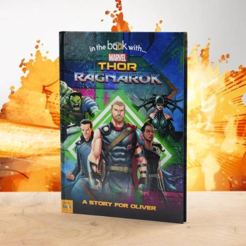 Personalised Marvel's Thor Ragnarok Book